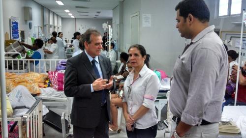 Cuiabá, Mato Grosso, visita Pronto socorro, prefeitura, Kamil, Elza de Queiroz, reivindicações, direitos humanos, dossiê, denuncias.