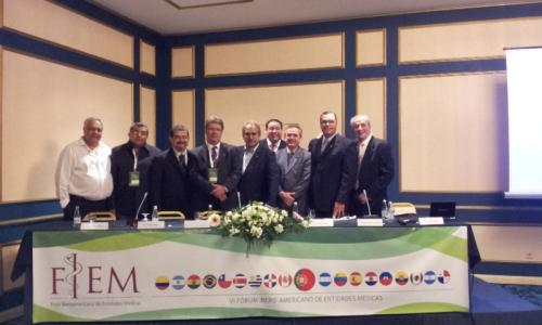 O FIEM foi constituído, há seis anos atrás pela Confederação Médica Latinoamericana e do Caribe.