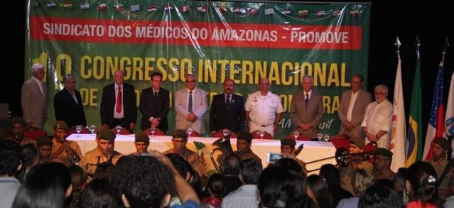Congresso Internacional reúne mais de 500 participantes em Manaus
